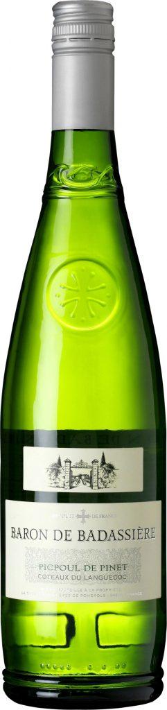 Baron de Badassiere - Picpoul de Pinet Coteaux du Languedoc 2018 75cl Bottle