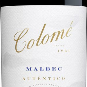 Bodega Colome - Autentico Malbec 2017 75cl Bottle