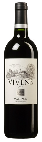Chateau Durfort Vivens - Vivens Margaux 2013 75cl Bottle