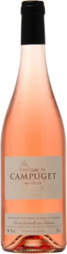 Chateau de Campuget - Rose Invitation 2018 75cl Bottle