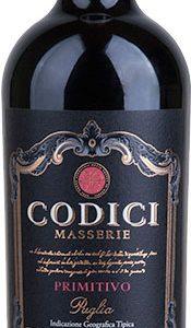 Codici - Masserie Primitivo 2018 75cl Bottle