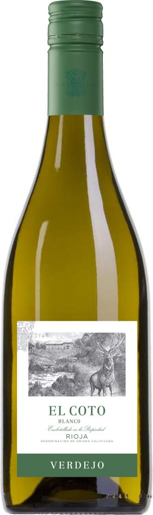 El Coto - Rioja Verdejo 2018 75cl Bottle