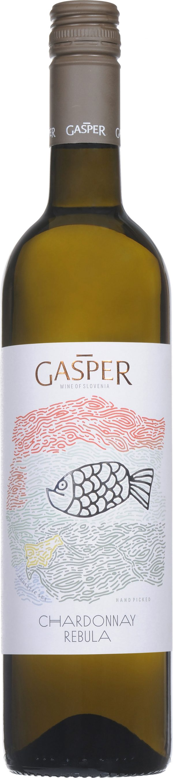 Gasper - Chardonnay Rebula 2018 75cl Bottle