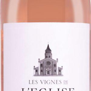 Les Vignes De L'eglise - Rose de Syrah Igp Pays d'Oc 2018 12x 75cl Bottles