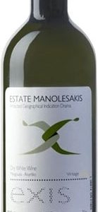 Manolesakis Estate - Exis White 2018 75cl Bottle
