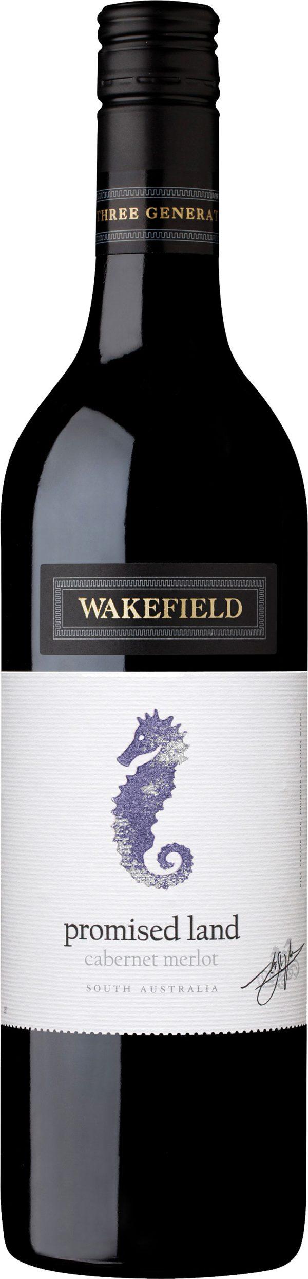 Wakefield Wines - Promised Land Cabernet Merlot 2017 6x 75cl Bottles