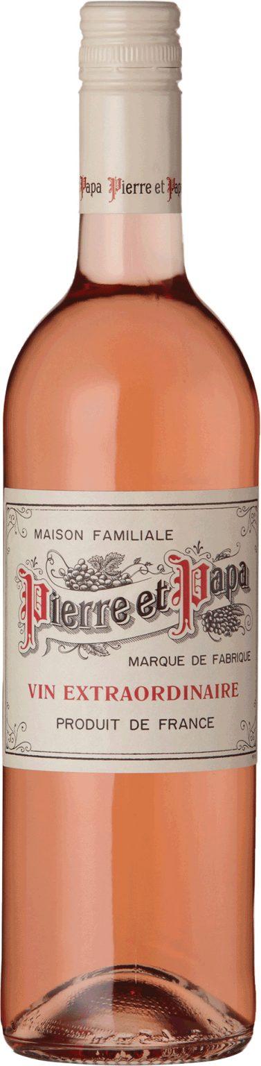 Pierre et Papa - Rose IGP Pays d'Herault Languedoc 2019 75cl Bottle
