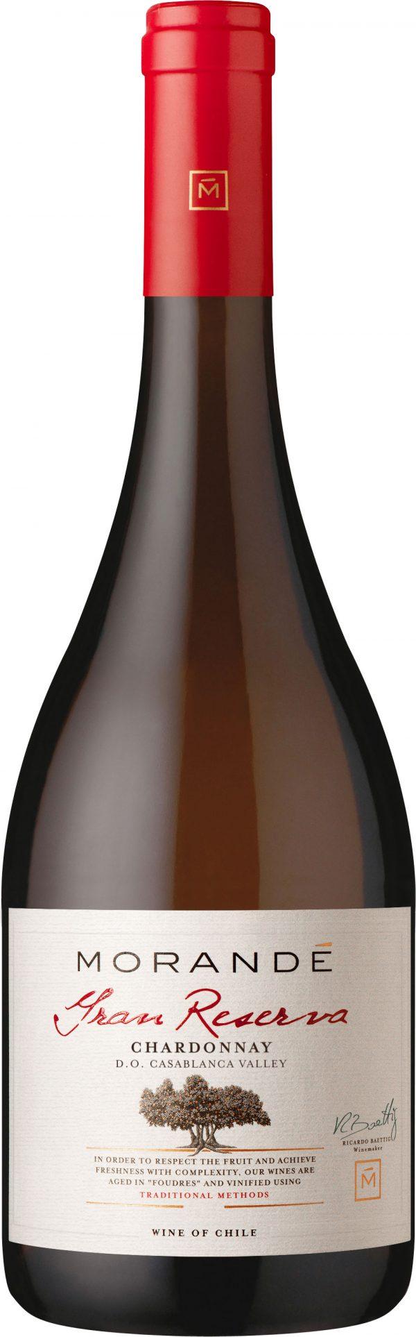 Morande - Gran Reserva Chardonnay 2015 75cl Bottle
