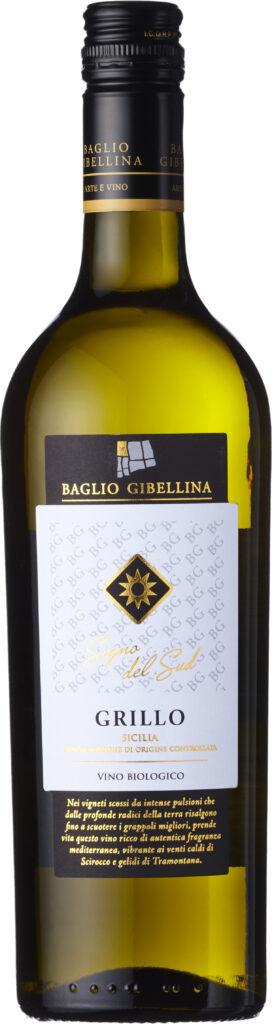 Baglio Gibellina - Sogno del Sud Organic Grillo IGT 2019 6x 75cl Bottles