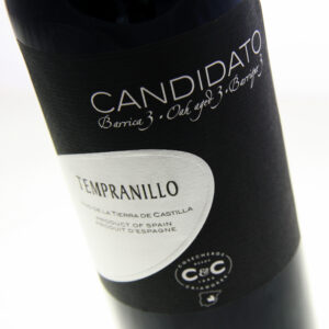 Candidato - Barrica 3 Tempranillo 2017 12x 75cl Bottles