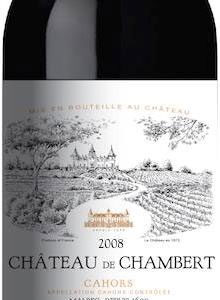 Chateau de Chambert - Cahors Malbec 2014 75cl Bottle