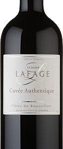 Domaine Lafage - Cotes du Roussillon Rouge Authentique 2017 75cl Bottle