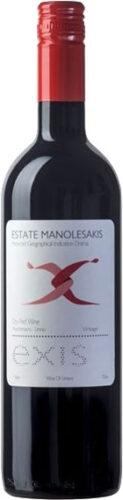Manolesakis Estate - Exis Red 2017 75cl Bottle