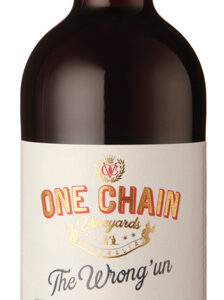 One Chain Vineyards - The Wrong Un Shiraz Cabernet South Eastern Australia 2017 12x 75cl Bottles