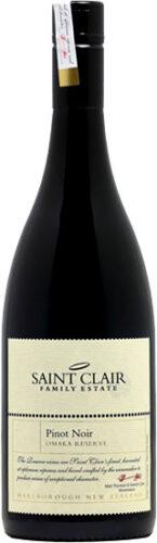 Saint Clair - Omaka Reserve Pinot Noir 2016 75cl Bottle