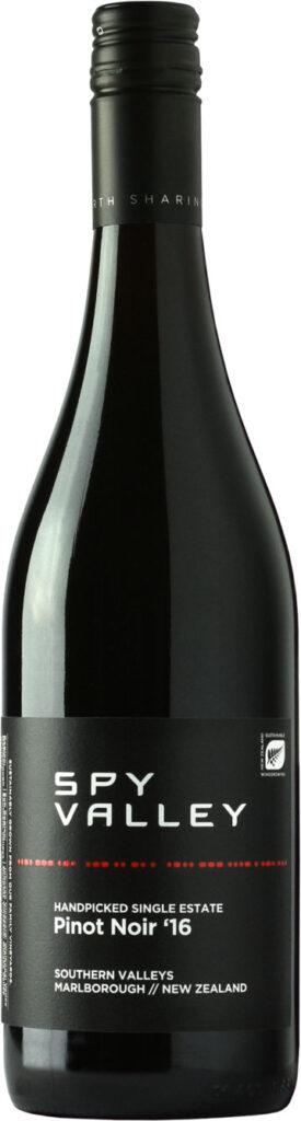 Spy Valley - Handpicked Single Estate Pinot Noir 2016 75cl Bottle