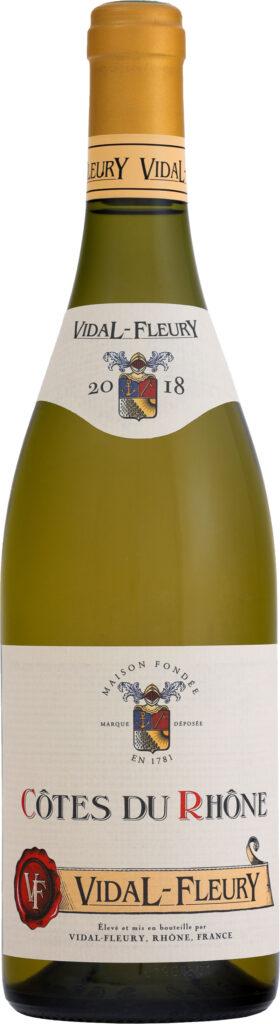 Vidal-Fleury - Cotes du Rhone Blanc 2017 6x 75cl Bottles