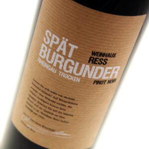 Weingut Balthasar Ress - Weinhaus Ress Pinot Noir 2016 6x 75cl Bottles