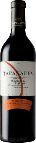 Tapanappa - Whalebone Vineyard Wrattonbully Merlot Cabernet Franc 2014 75cl Bottle