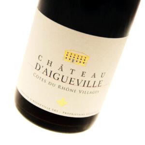 Chateau d'Aigueville - Cotes-du-Rhone-Villages 2016 6x 75cl Bottles