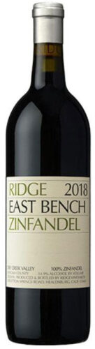 Ridge Vineyards - East Bench Zinfandel 2018 75cl Bottle
