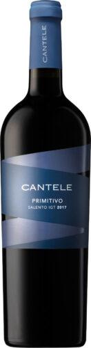 Cantele - Primitivo del Salento 2017 75cl Bottle