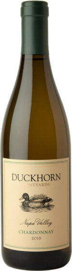 Duckhorn Vineyards - Napa Valley Chardonnay 2018 75cl Bottle